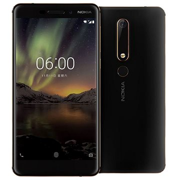 Nokia 6.1 Black/Copper Dual SIM (11PL2B01A10)