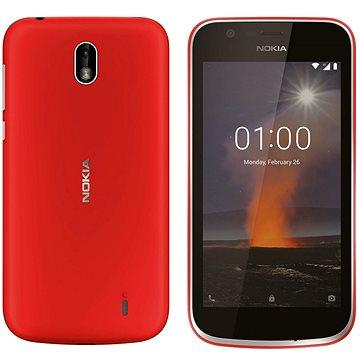 Nokia 1 Red Dual SIM + ZDARMA Digitální předplatné TOUCHIT - SK - čtvrtletní předplatné od A