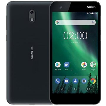 Nokia 2 Black (11E1MB01A12) + ZDARMA Digitální předplatné TOUCHIT - SK - čtvrtletní předplatn
