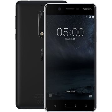 Nokia 5 Matte Black Dual SIM (11ND1B01A14) + ZDARMA Bezpečnostní software Kaspersky Internet Security pro Android pro 1 mobil nebo tablet na 6 měsíců (elektronická licence) Bluetooth reproduktor LAMAX Beat Sentinel SE-1 Digitální předplatné Interview - SK