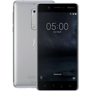 Nokia 5 Silver Dual SIM + ZDARMA Digitální předplatné Týden - roční