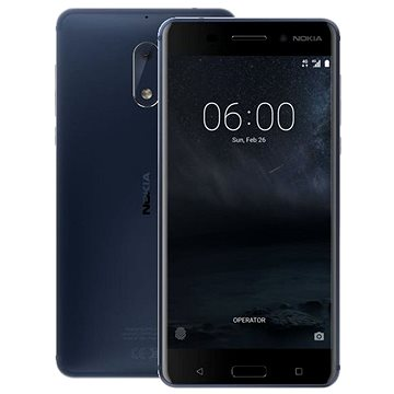 Nokia 6 Tempered Blue