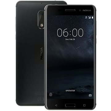 Nokia 6 Matte Black Dual SIM (11PLEB01A11)