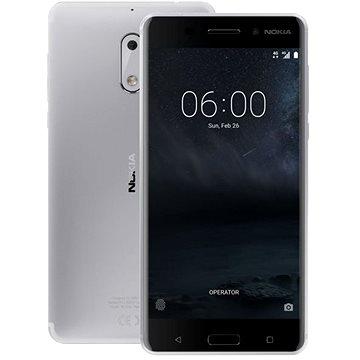 Nokia 6 Silver Dual SIM (11PLES01A09) + ZDARMA Digitální předplatné Týden - roční