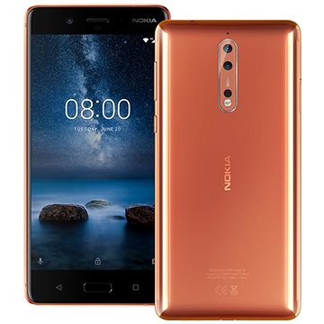 Nokia 8 Dual SIM Polished Copper