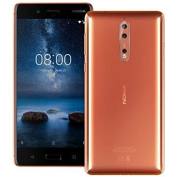 Nokia 8 Dual SIM Polished Copper (11NB1M01A08) + ZDARMA Digitální předplatné Interview - SK - Ro