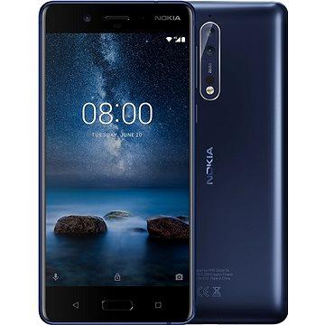 Nokia 8 Single SIM Tempered Blue (11NB1L01A11) + ZDARMA Digitální předplatné PC Revue - Roční předplatné - ZDARMA