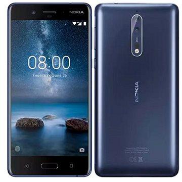 Nokia 8 Single SIM Polished Blue (11NB1L01A10) + ZDARMA Digitální předplatné PC Revue - Roční předplatné - ZDARMA