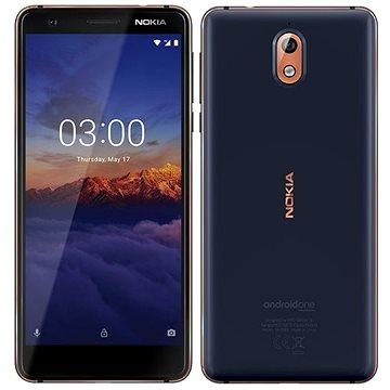 Nokia 3.1 Dual SIM modrý (11ES2L01A15)