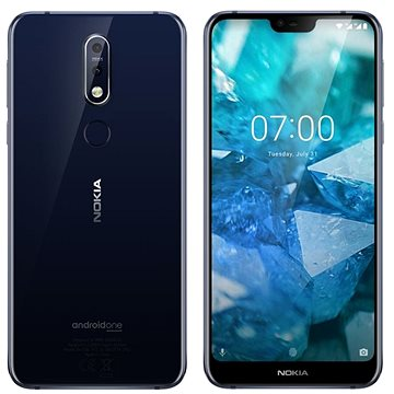 Nokia 7.1 Single SIM modrá (11CTLL01A05)