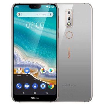 Nokia 7.1 Single SIM šedá