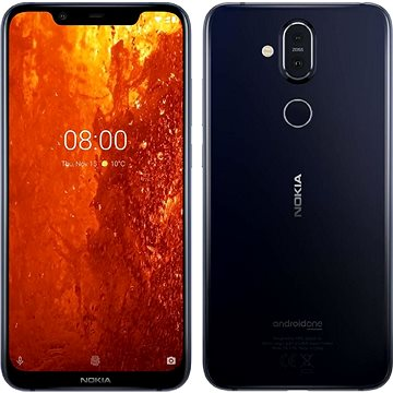 Nokia 8.1 modrá (11PNXL01A05)