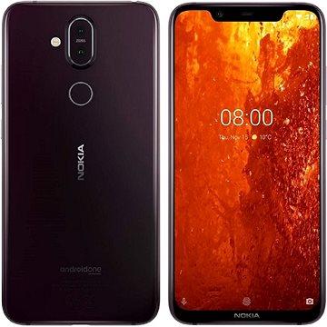 Nokia 8.1 fialová