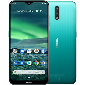 Nokia 2.3 zelená (719901092681)