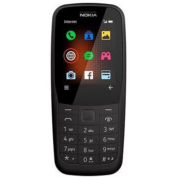 Nokia 220 4G Dual SIM černá (16QUEB01A02 )
