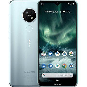Nokia 7.2 Dual SIM stříbrná