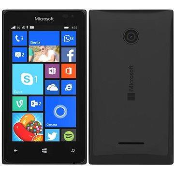 Microsoft Lumia 435 černá Dual SIM (A00023997)