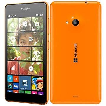 Microsoft Lumia 535 zářivě oranžová (A00023065) + ZDARMA Power Bank Mobile Battery 2600 mAh Digitální předplatné Týden - roční