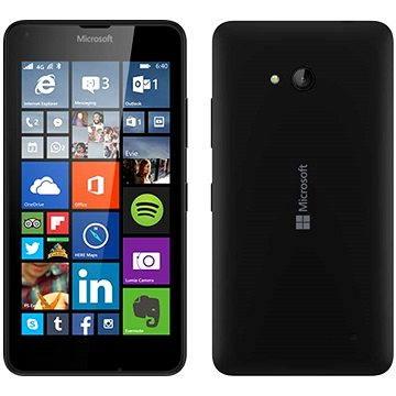 Microsoft Lumia 640 černá Dual SIM (A00024675) + ZDARMA Digitální předplatné Týden - roční Digitální předplatné Interview - SK - Roční od ALZY