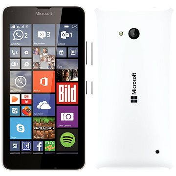 Microsoft Lumia 640 LTE bílá (A00025177) + ZDARMA Album MP3 Zimní playlist 2017 Digitální předplatné Týden - roční
