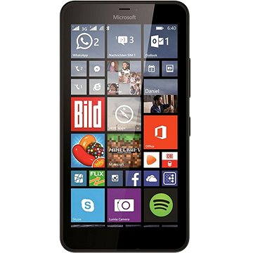 Microsoft Lumia 640 XL černá Dual SIM (A00024514)