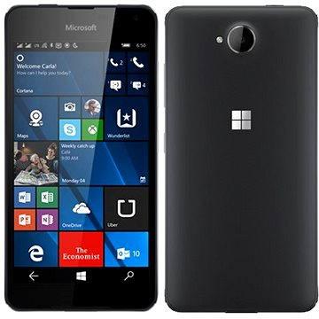 Microsoft Lumia 650 LTE černá Dual SIM (A00027043)