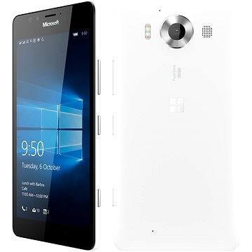 Microsoft Lumia 950 LTE bílá Dual SIM (A00026406) + ZDARMA Poukaz Elektronický darčekový poukaz Alza.sk v hodnote 33 EUR, platnosť do 23/12/2016