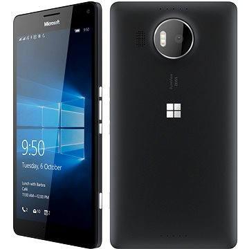 Microsoft Lumia 950 XL LTE černá Dual SIM (A00026274) + ZDARMA Elektronická licence ESET Mobile Security na 6 měsíců (elektronická licence)