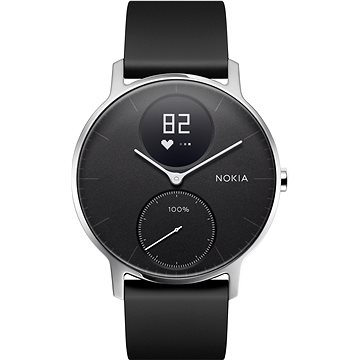 Chytré hodinky Nokia Steel HR (36mm) Black (HWA03-36black-All-Inter)