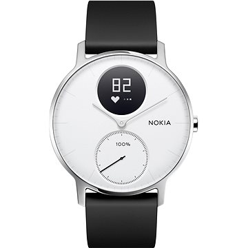 Chytré hodinky Nokia Steel HR (36mm) White (HWA03-36white-All-Inter)