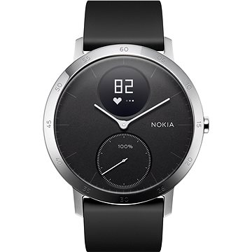 Nokia Steel HR Black (40mm) (HWA03-40black-All-Inter)