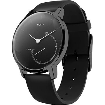 Chytré hodinky Nokia Steel Special Edition Full Black (36mm) (HWA01-Full Black)