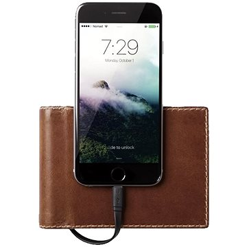 Nomad Leather Charging Wallet Bifold (WALLET-LIGHTNING-BIF)