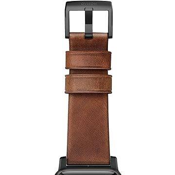 Řemínek Nomad Horween Leather Strap Traditional Black (NM1A4RBT00)