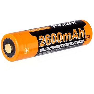 Dobíjecí USB baterie Fenix 18650 2600 mAh (Li-ion) (6942870304595)