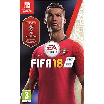 FIFA 18 - Nintendo Switch (1053978) + ZDARMA Figurka - dárek k předobjednávce - Cristiano Ronaldo