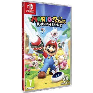 Mario + Rabbids Kingdom Battle - Nintendo Switch (NSS4342) + ZDARMA Herní doplněk k předobjednávce získej zdarma Pixel Pack! - unikátní set 6 zbraní do hry