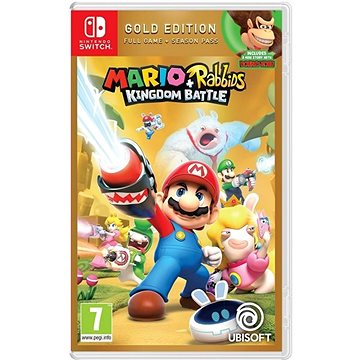 Mario + Rabbids Kingdom Battle - Gold Edition - Nintendo Switch (3307216024507)