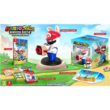 Mario + Rabbids Kingdom Battle - Collectors Edition - Nintendo Switch (NSS4341) + ZDARMA Herní doplněk k předobjednávce získej zdarma Pixel Pack! - unikátní set 6 zbraní do hry