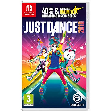 Just Dance 2018 - Nintendo Switch (3307216026501)