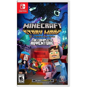 Minecraft Story Mode: The Complete Adventure - Nintendo Switch (5060146464550)