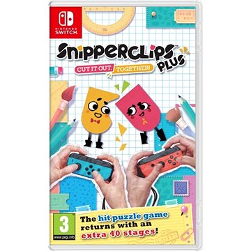 Snipperclips Plus: Cut it out, together! - Nintendo Switch (045496421144)