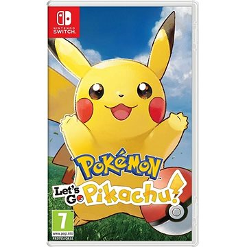 Pokémon Lets Go Pikachu! - Nintendo Switch (045496423155)
