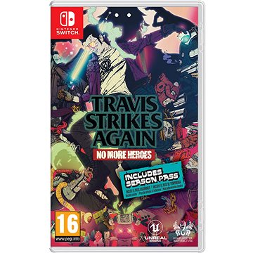 Travis Strikes Again: No More Heroes - Nintendo Switch (045496423315)
