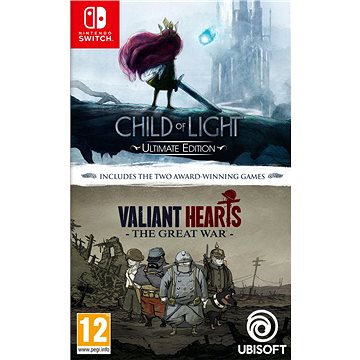 Child of Light + Valiant Hearts - Nintendo Switch (3307216102090)