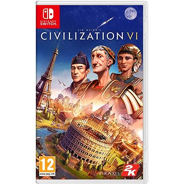 Sid Meiers Civilization VI - Nintendo Switch (5026555067638)