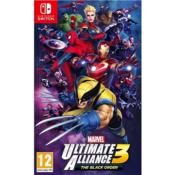 Marvel Ultimate Alliance 3: The Black Order - Nintendo Switch (045496423391)