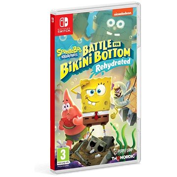 Spongebob SquarePants: Battle for Bikini Bottom - Rehydrated - Nintendo Switch (9120080074461)
