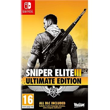 Sniper Elite 3: Ultimate Edition - Nintendo Switch (5056208803658)