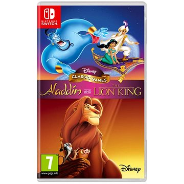 Disney Classic Games: Aladdin and the Lion King - Nintendo Switch (5060146468381)